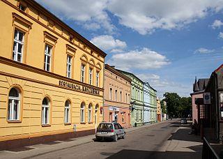 Brusy Place in Pomeranian Voivodeship, Poland