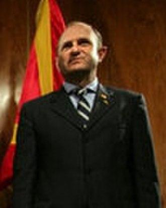 Macedonian parliamentary election, 2006 - Image: Buckovski May 2006