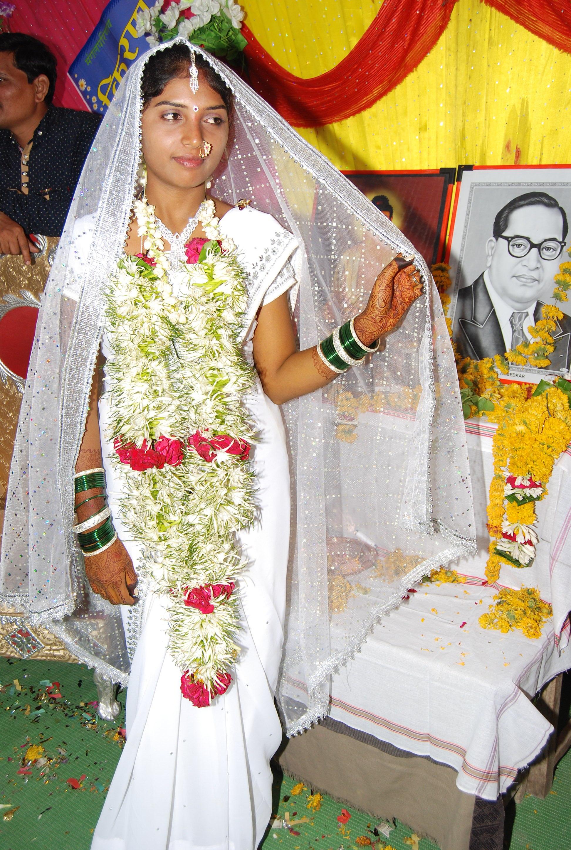File Buddhist Wedding In Maharashtra India 02 Jpg