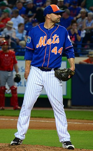 Buddy Carlyle - Carlyle with the Mets in 2016