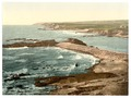 Bude, entrance to harbor and breakwater, Cornwall, England-LCCN2002696580.tif