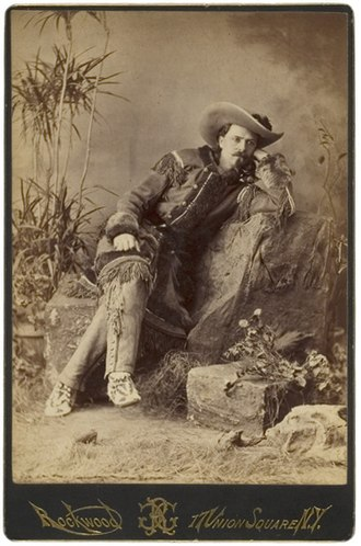 George G. Rockwood - Image: Buffalo Bill Cabinet Card