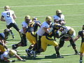 Buffaloes on offense at Colorado at Cal 2010-09-11 23.JPG