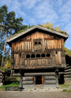 Building at Norsk Folkemuseum in Oslo Norway.png