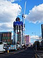 Building construction at Tottenham Hale, Haringey 3.jpg