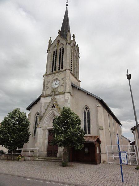 Buissoncourt (M-et-M) église