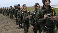 Bulgarian Air Forces paratroopers, exercise Thracian Spring 2011.jpg