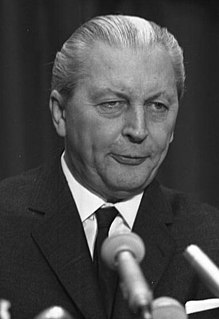 Kurt Georg Kiesinger Chancellor of West Germany (1966–1969), CDU