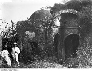 Islam in Tanzania - The Great Mosque of Kilwa is one of the earliest surviving mosques in the African Great Lakes.