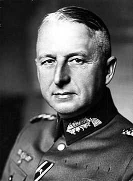 Generalmajor Erich von Manstein in 1938