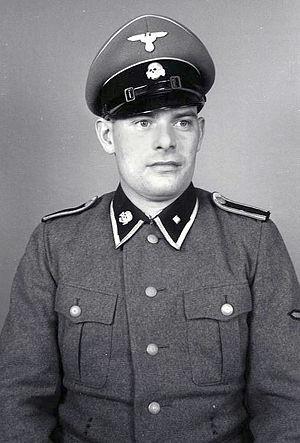 Unterscharführer - An SS-Unterscharführer serving at the Mauthausen-Gusen concentration camp.