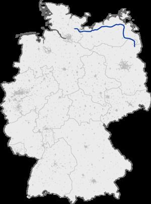 Bundesautobahn 20 - Image: Bundesautobahn 20 map