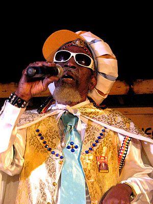 Grammy Award for Best Reggae Album - Three-time award winner Bunny Wailer, performing in 2009