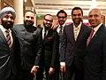 Bunty Walia, Juspreet Singh Walia, Ratan Ginwala, Abhay Deol and Nadir Patel.jpg