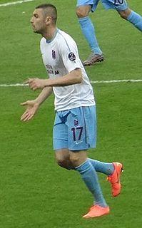 Burak Yılmaz Turkish international footballer