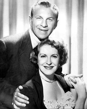 The George Burns and Gracie Allen Show - Burns and Allen in 1952