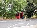 Bus Shelter, Edgerton Road,Huddersfield - geograph.org.uk - 1508855.jpg
