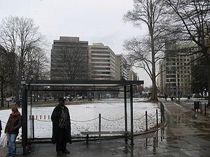 McPherson Square - McPherson Square in winter