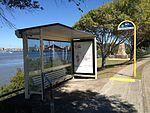 Bus Stop Kingsford Smith Drive, Cameron Rocks Reserve.JPG