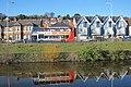 Bus on Rampart Road - geograph.org.uk - 2313803.jpg