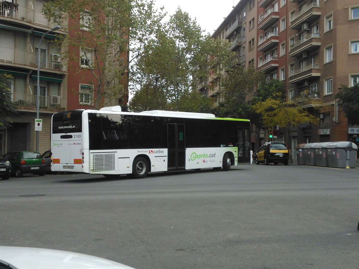 L nea e3 de expr atm rea de barcelona wikipedia for Linea barcelona