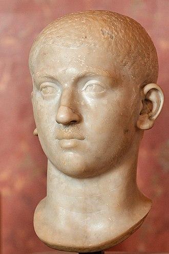 Severus Alexander - Bust of Alexander Severus, Louvre