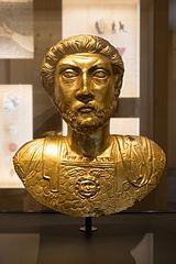 Gold Bust of Marcus Aurelius