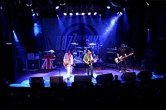 Buzzcocks - Buzzcocks performing in Porto Alegre, Brasil, 2006.