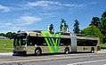C-Tran New Flyer articulated, hybrid bus on the Vine service (2017).jpg