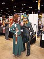 C2E2 (Day 2) 2014, Merida and Arrow.jpg