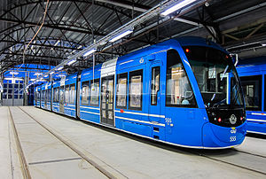 Lidingöbanan - One of the new A36 trams, made by CAF