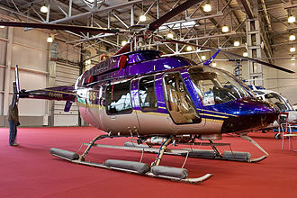Bell 407 - Bell 407 at HeliRussia 2008