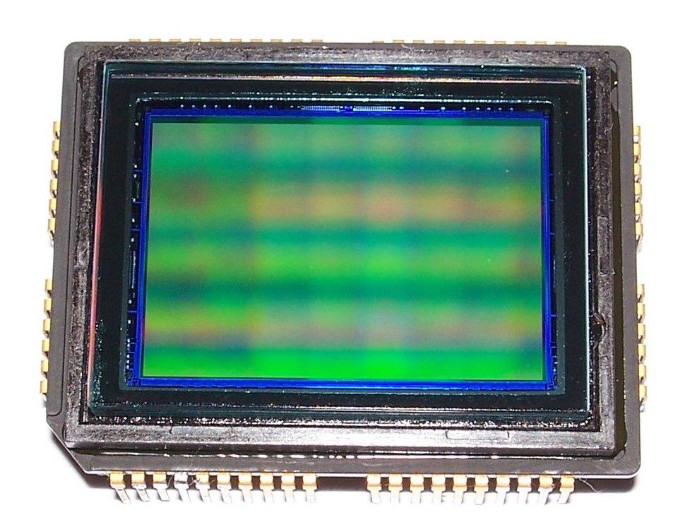 CCD SONY ICX493AQA sensor side