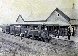 CGR 2nd Class 2-6-2TT - Image: CGR 2nd Class 2 6 2TT, 1875