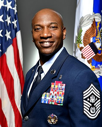 Chief Master Sergeant of the Air Force - Image: CMSAF Wright