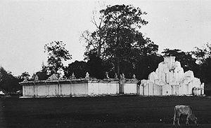 Gunongan Historical Park - The Gunongan around 1910-1930