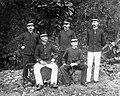 COLLECTIE TROPENMUSEUM Groepsportret van officier G.C.E. Van Daalen en officiëren tijdens de militaire expeditie naar de Gayo- en Alaslanden in Atjeh Noord-Sumatra TMnr 10014106.jpg