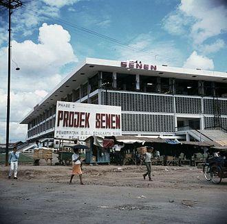 Senen - Proyek Senen, a revitalization of Pasar Senen initiated in the 1960s.