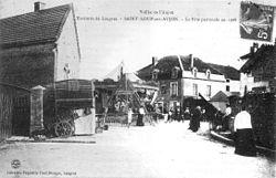 CP Saint-Loup-sur-Aujon La Fête patronale en 1906.jpg