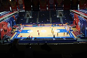CSKA Universal Sports Hall Inside @ CSKA - Limoges 18 December 2014.JPG