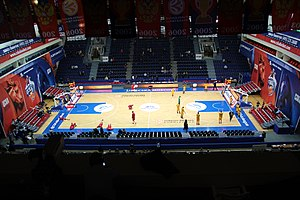 PBC CSKA Moscow - Image: CSKA Universal Sports Hall Inside @ CSKA Limoges 18 December 2014