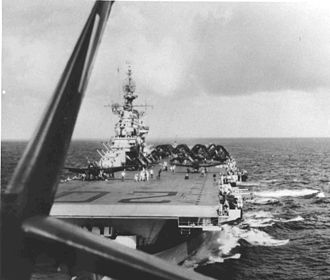 Carrier Air Wing Seventeen - CVG-82 on USS Bennington, 1944.