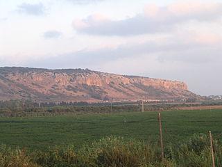 Mount Carmel Mountain in Israel