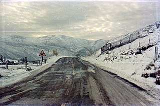 Cairnwell Pass mountain pass in Scotland