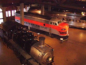 California State Railroad Museum - museum interior