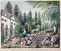 Calvariestraat, vm kanunnikenhuis & tuin (Ph v Gulpen, 1830).jpg