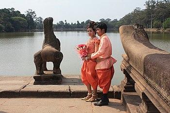 Cambodian Couple at Angkor Wat.jpg