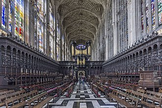 Choir of King's College, Cambridge - King's College Chapel, Cambridge