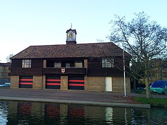 Jesus College Boat Club (Cambridge) - Image: Cambridge boathouses Jesus
