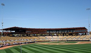 2009 Los Angeles Dodgers season - View from Right Field, Camelback Ranch, Glendale, Az.